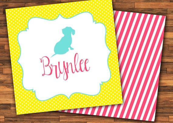 Calling Cards For Kids With Dog Gift Stickers Gift Tags Etsy