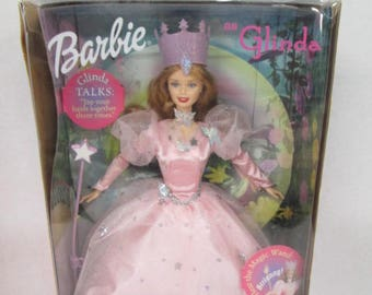 Mattel 1999 Wizard of Oz Barbie as Glinda the Good Witch doll NRFB