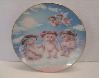 Dreamsicles The Flying Lesson 1994 Collector Plate by Hamilton Collection