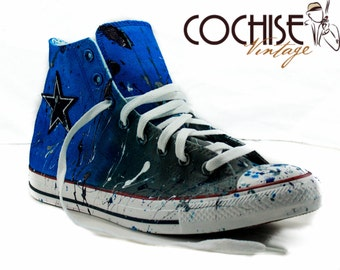 Details about NEW! Dallas Cowboys Custom Made Converse Chuck Taylor Sneakers