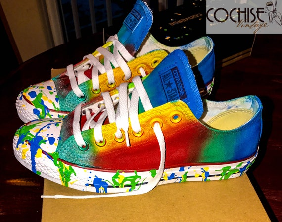 This Converse Chuck Taylor All Star Has A Paint Splatter
