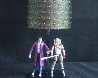 DC Comics Lamp - Joker & Harley Quinn