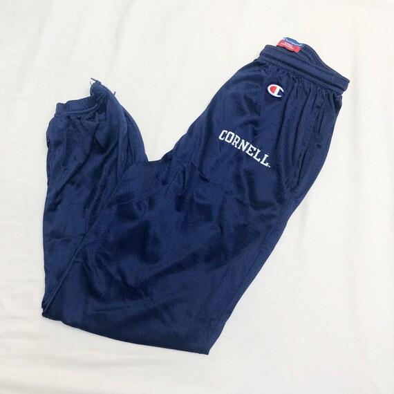 Vintage Champion Mesh Cornell Sweatpants // Medium