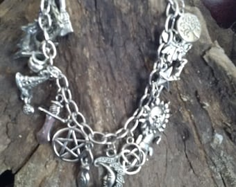 Enchanted Witch Charm Bracelet