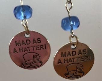 Alice in Wonderland  Earrings