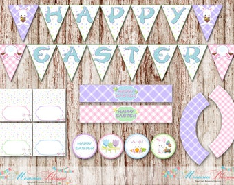 Easter Party Package, Easter Bunny, Digital File