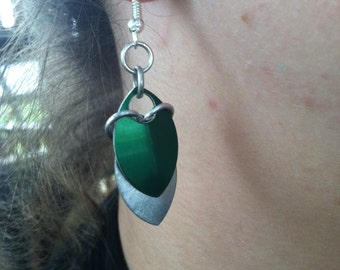 scale earrings