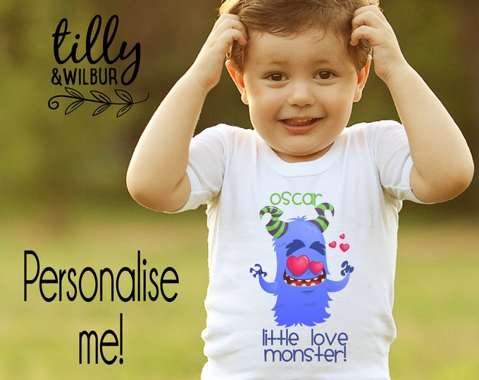 Personalised Boys Valentine's Day T-Shirt
