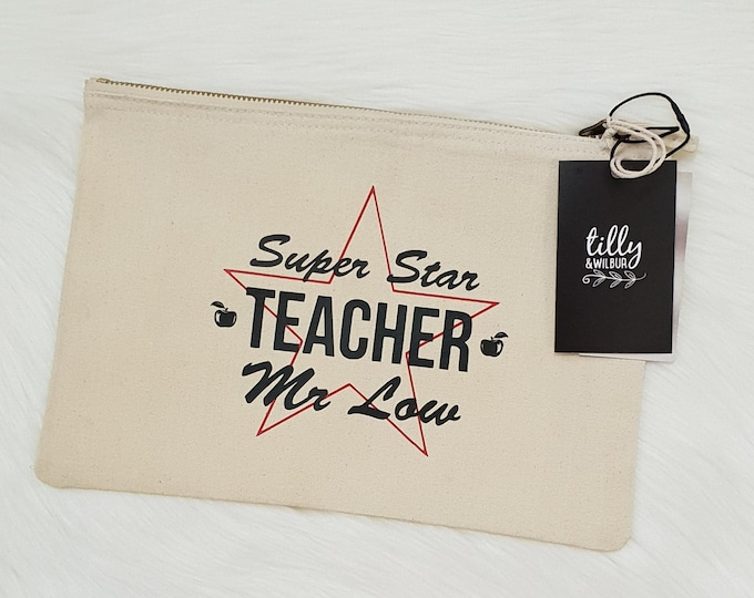 Teacher Gift Pencil Case