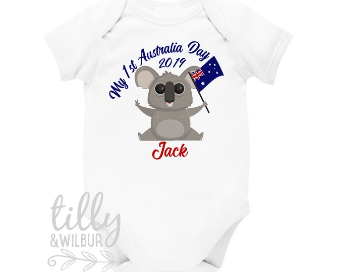 My 1st Australia Day 2019 Koala Bear Baby Bodysuit