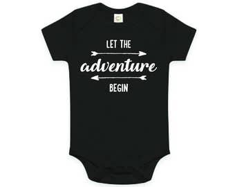 Let The Adventure Begin Baby Bodysuit