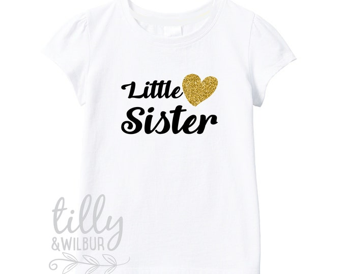 Little Sister T-Shirt For Girls