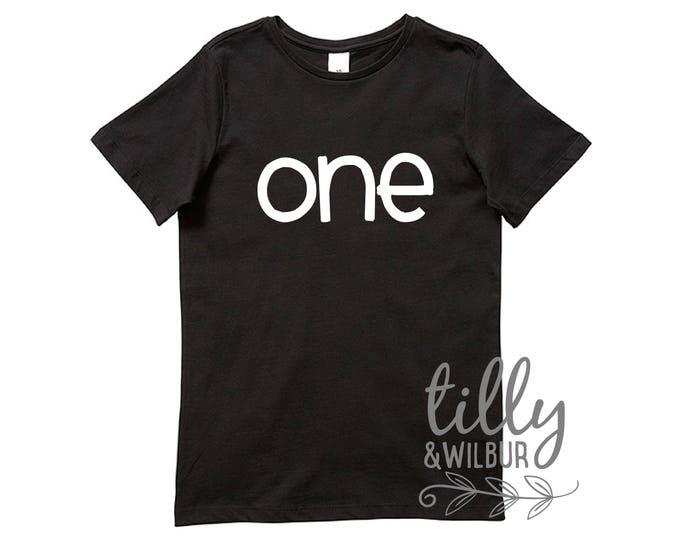 One Birthday T-Shirt