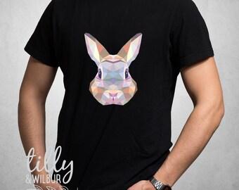 Rabbit Easter T-Shirt For Men