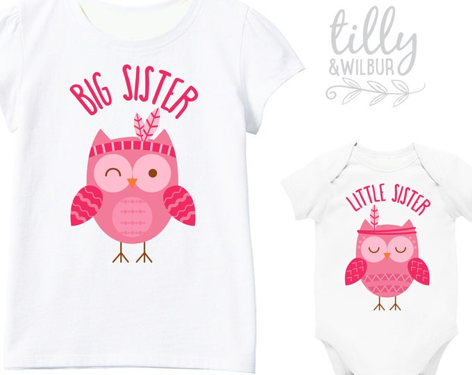 Big Sister Little Sister Owl Set