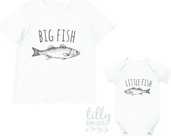 Big Fish Little Fish Matching Shirts For Brothers