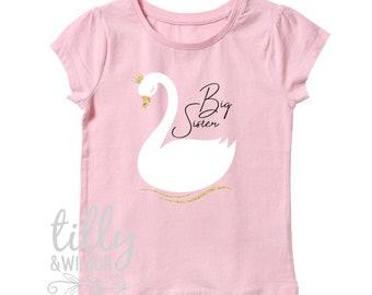Big Sister Swan T-Shirt
