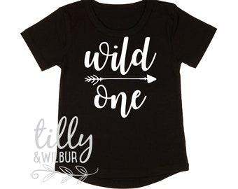 Wild One Boys 1st Birthday T-Shirt