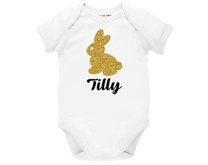 Personalised Easter Bunny Bodysuit