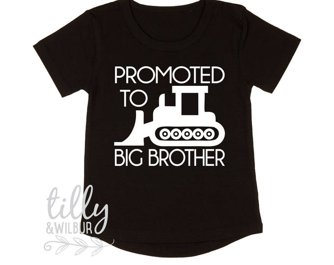 Promoted To Big Brother Digger T-Shirt For Boys