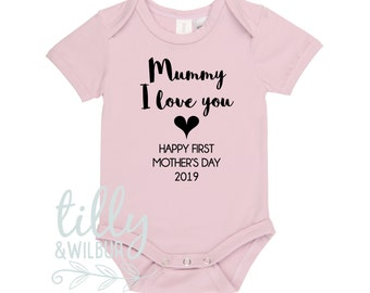 Mummy I Love You Happy First Mother's Day 2019