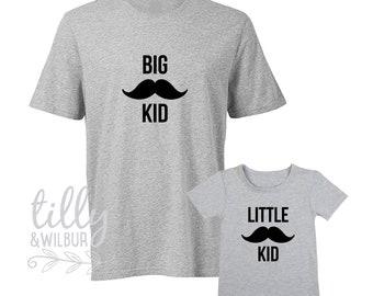 Big Kid Little Kid Matching Shirts
