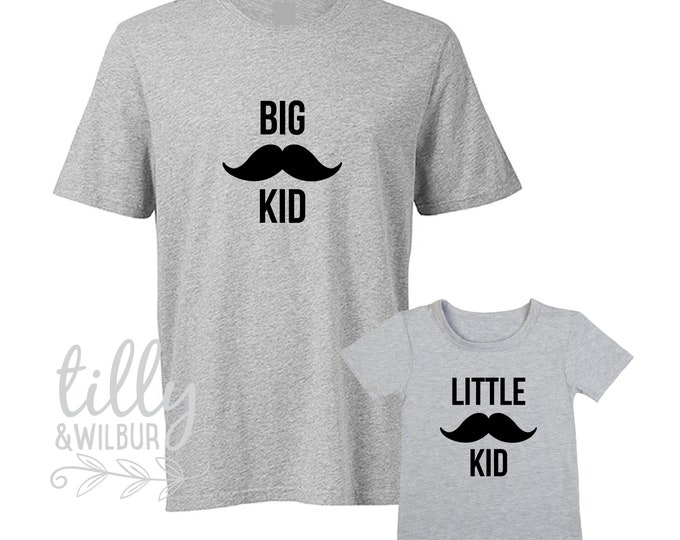 Big Kid Little Kid Matching Shirts