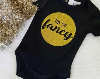 I'm So Fancy Baby Bodysuit