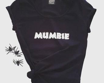 Mumbie Zombie Halloween T-Shirt For Women