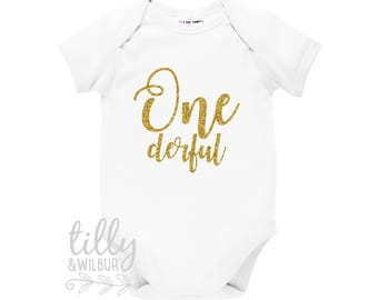 Onederful 1st Birthday Bodysuit
