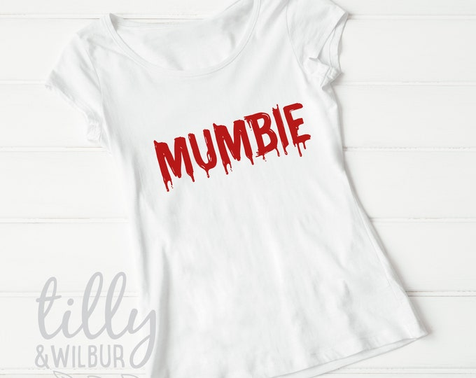 Mumbie Zombie Halloween T-Shirt For Women