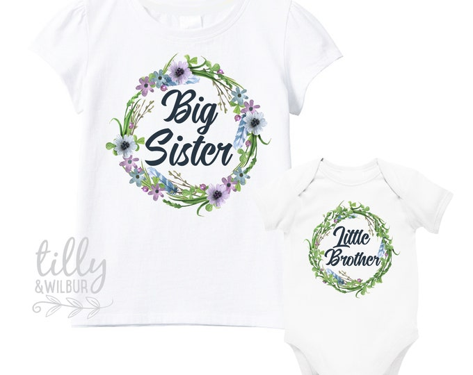 Big Sister Little Brother Set