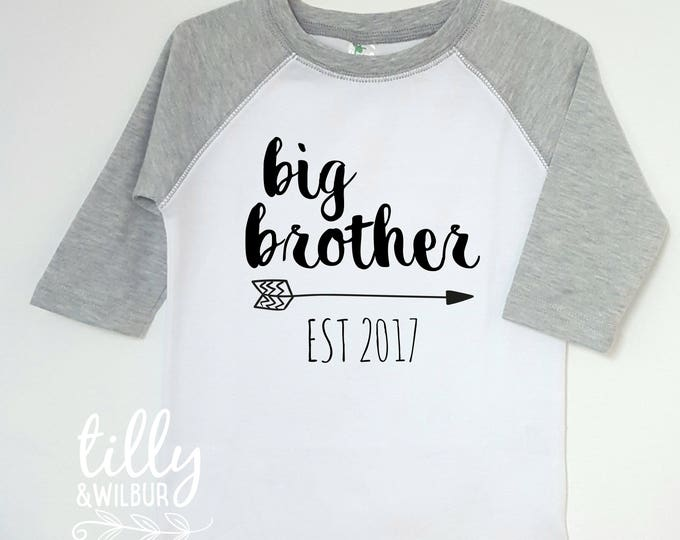 Big Brother Est. T-Shirt For Boys