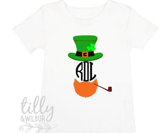 St Patrick's Day Personalised Boy's T-Shirt