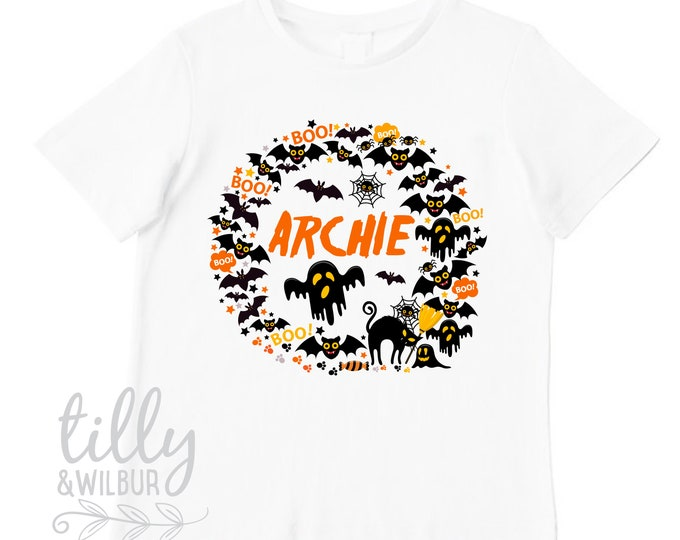 Happy Halloween T-Shirt For Boys