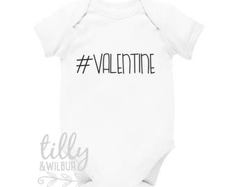 Valentine's Day Baby Bodysuit #valentine