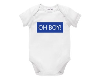 Oh Boy! Baby Bodysuit