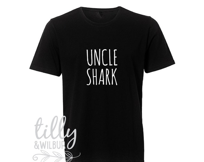 Uncle Shark Men's T-Shirt
