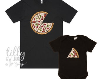2532d6ca8 Father Son Pizza T-Shirt, Daddy Daughter Pizza T-Shirts, Matching Pizza  Outfits, Matchy Matchy, Whole Pizza One Slice Matching, Pizza Set