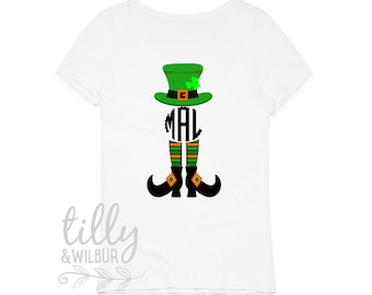 St Patrick's Day Personalised Women's T-Shirt