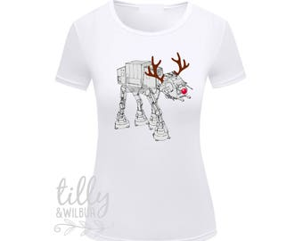 Star Wars AT-AT Walker Christmas Women's T-Shirt