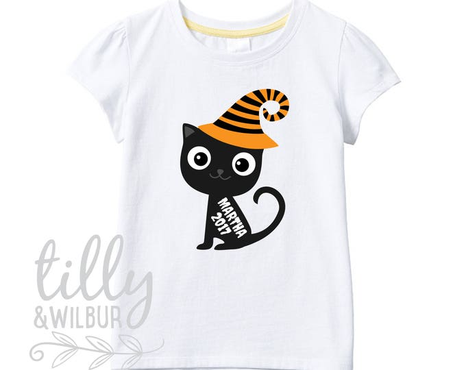 Halloween T-Shirt For Girls