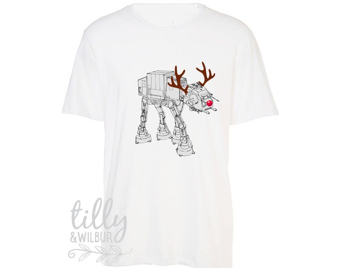 Star Wars AT-AT Walker Christmas T-Shirt For Men