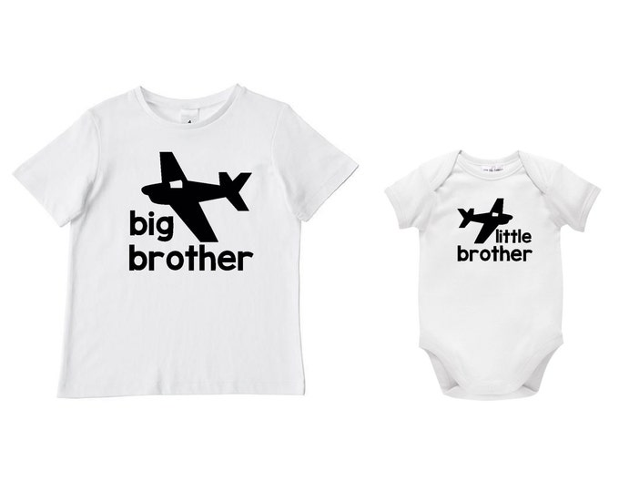 Big Brother Little Brother Sibling Set