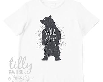 Wild One First Birthday T-Shirt