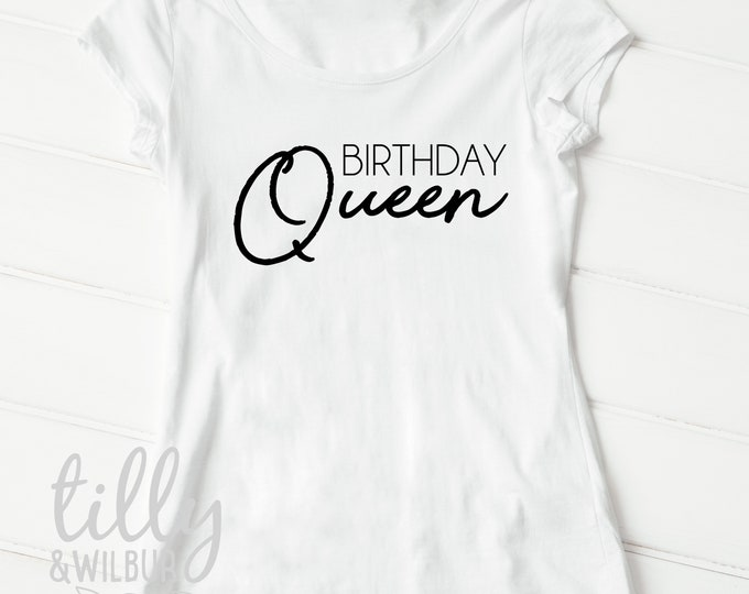 Birthday Queen Women's T-Shirt