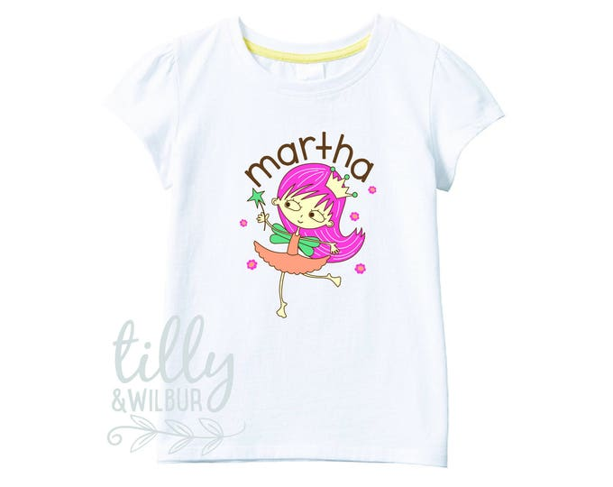 Fairy Princess T-Shirt For Girls