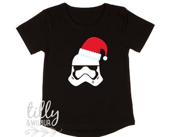 Star Wars Stormtrooper Christmas Child's T-Shirt