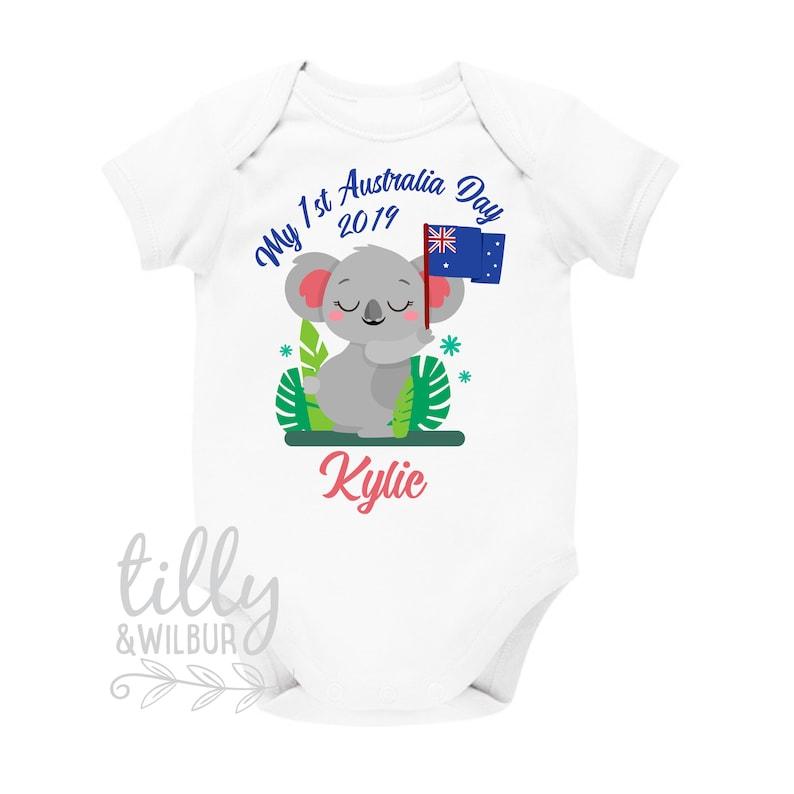 3f2808f99 My 1st Australia Day 2019 Koala Bear Baby Bodysuit Australia