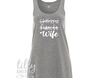 Girlfriend Fiancee Wife Women's Singlet